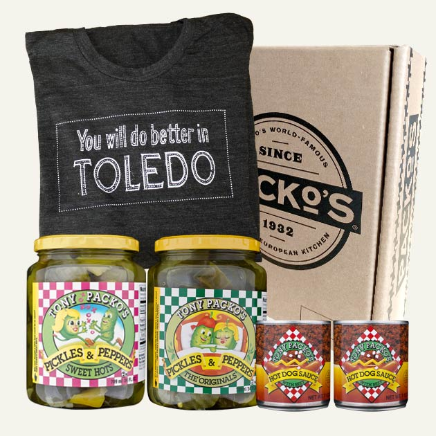 Better in toledo t shirt pack tony packo for You will do better in toledo shirt