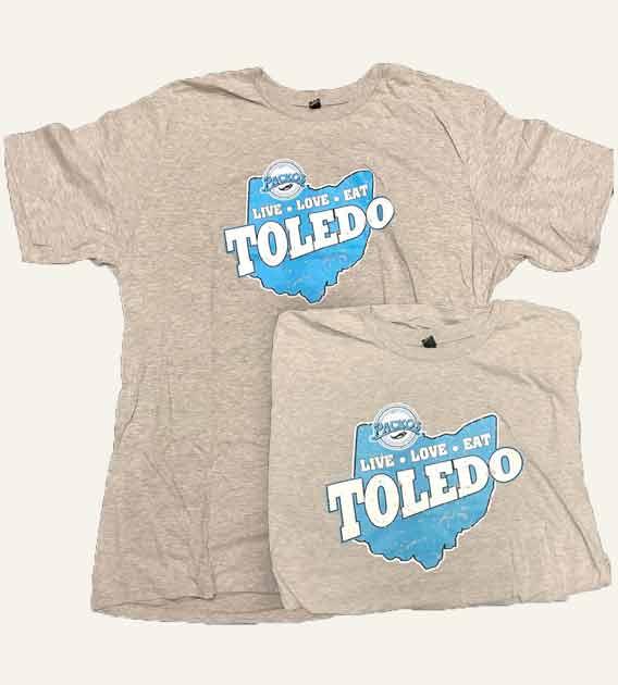 Toledo Live Love Eat T-shirt