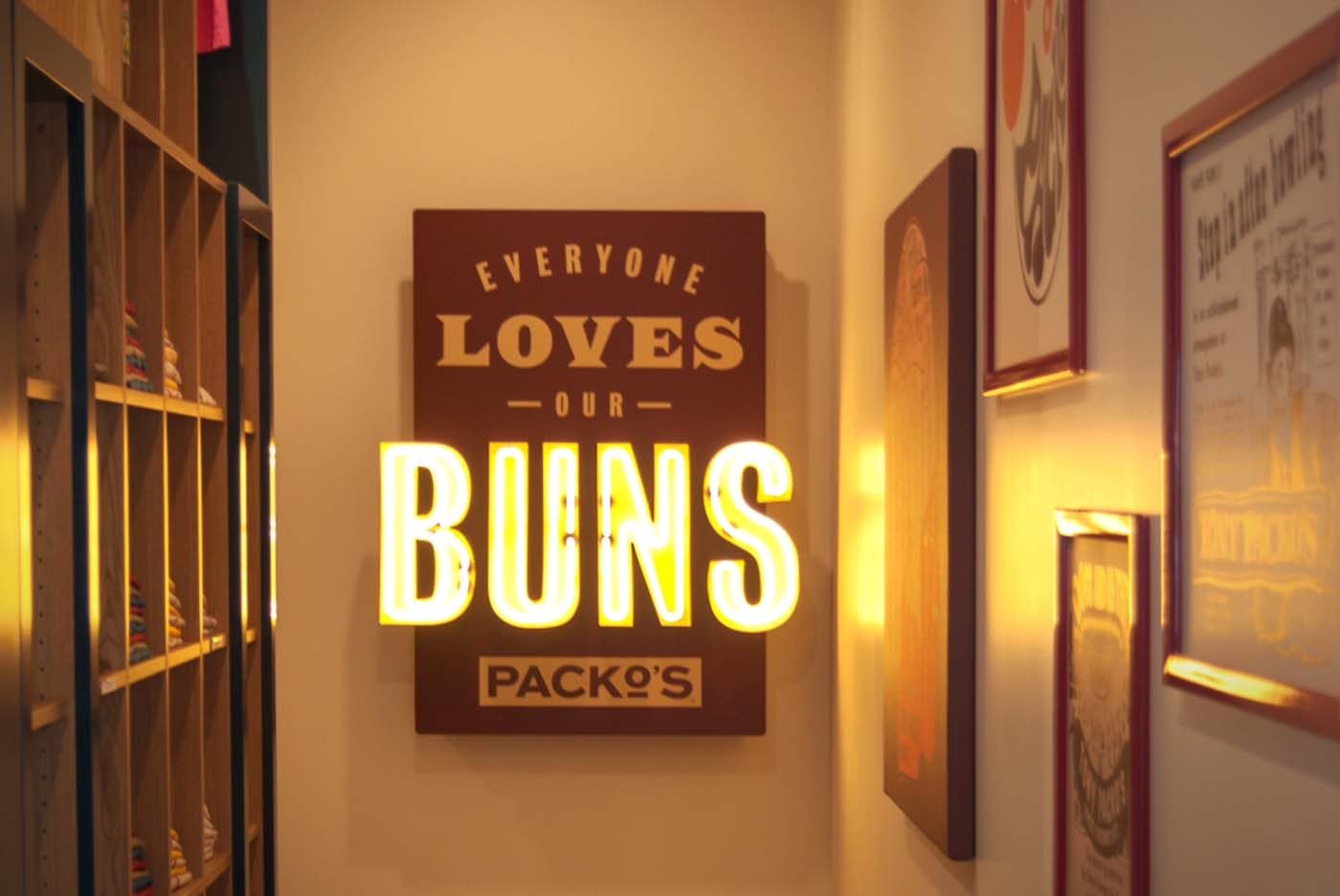 Everyone loves our Buns Sign