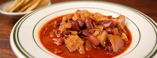 Tony Packo's Chicken Chili