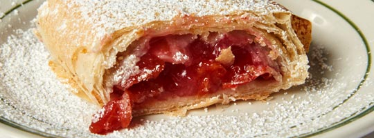 Fresh Baked Cherry Strudel
